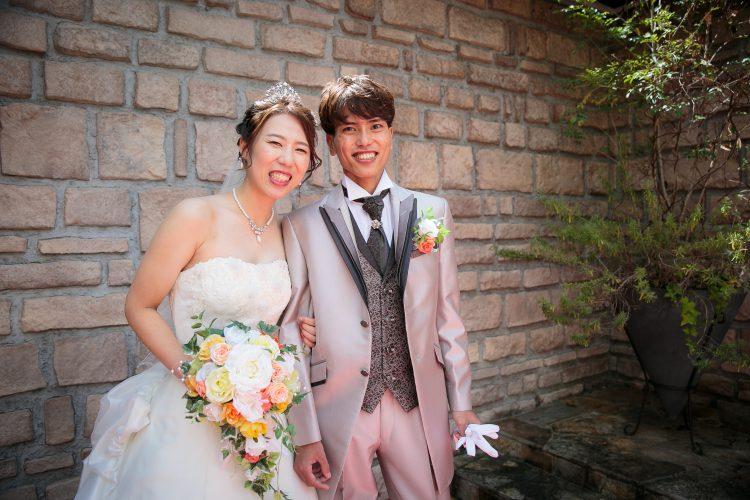 笑顔あふれる幸せな結婚式になりました!